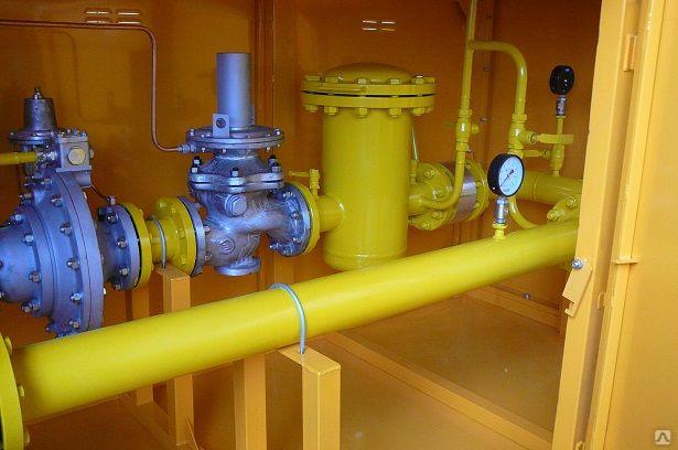 УГРШ-100Н(В)-2-ЭК с двумя регуляторами давления газа РДП-100Н(В)