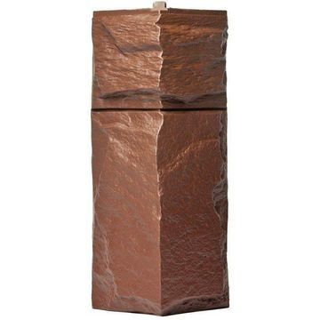 Наружный угол к фасадным панелям коричневый