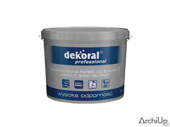 Краска силиконово-акриловая Dekoral Pro 3000 Akrylit Siloxan